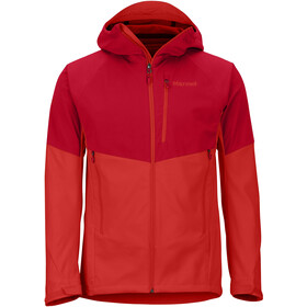 Marmot ROM Jas Heren, team red/victory red